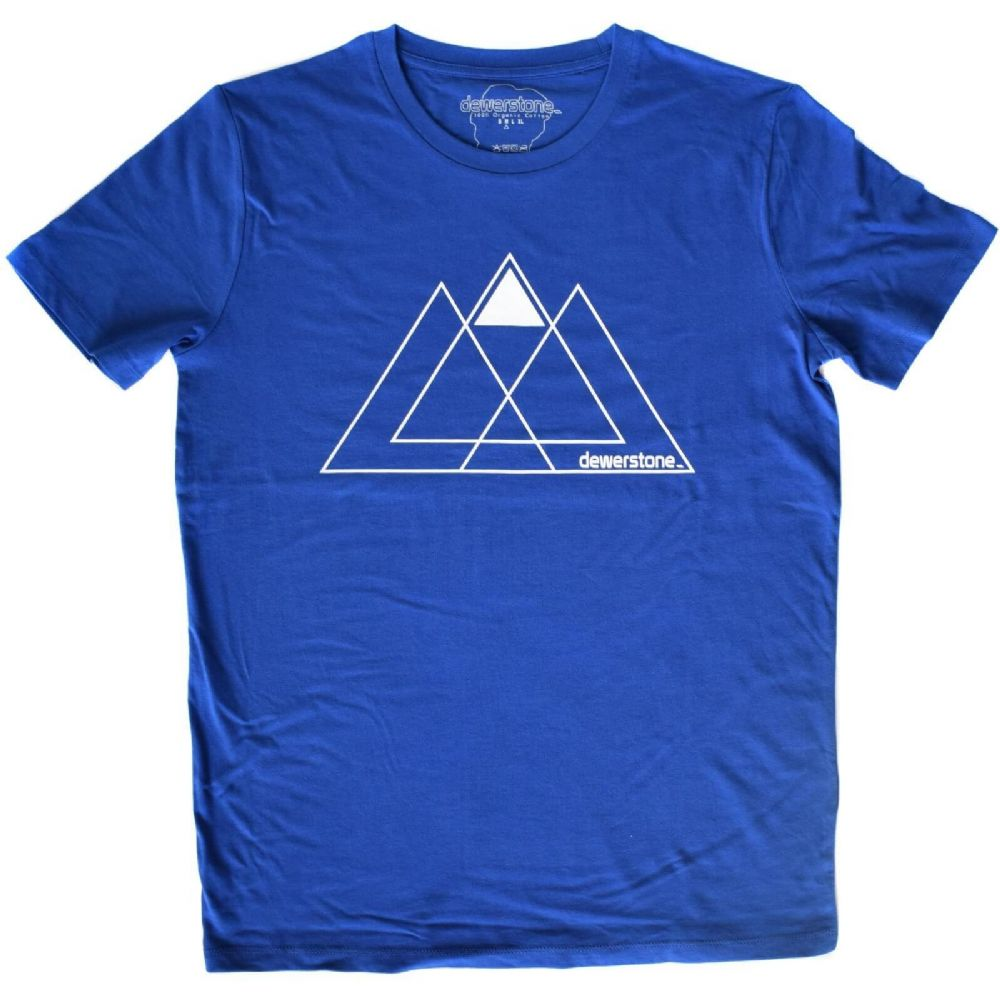 Dewerstone Three Peaks Tee - Royal Blue